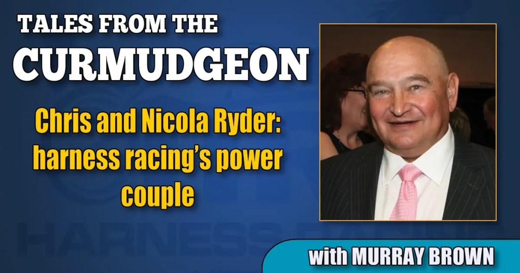 Chris and Nicola Ryder: harness racing's power couple