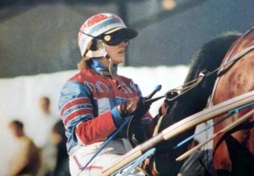Courtesy Jo Ann Looney King   … and trainer Jo Ann Looney King then.