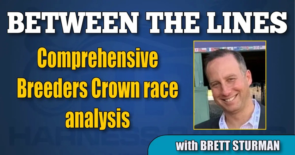 Comprehensive Breeders Crown race analysis