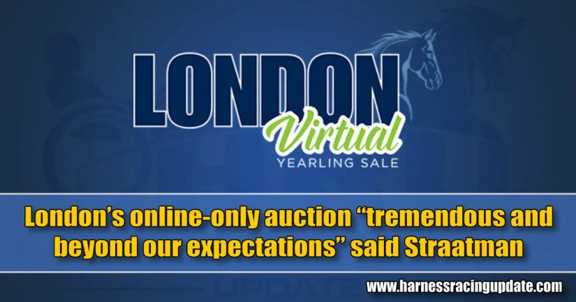 "London's online-only auction ""tremendous and beyond our expectations"" said Straatman"