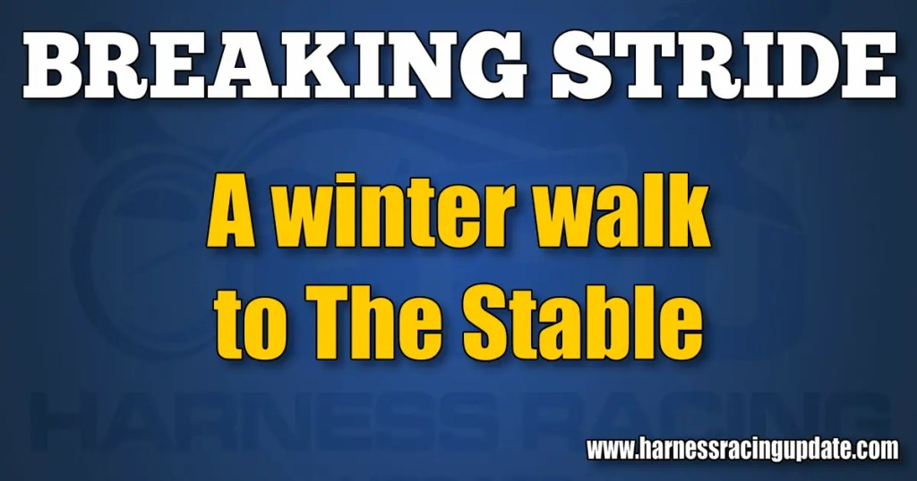 A winter walk to The Stable