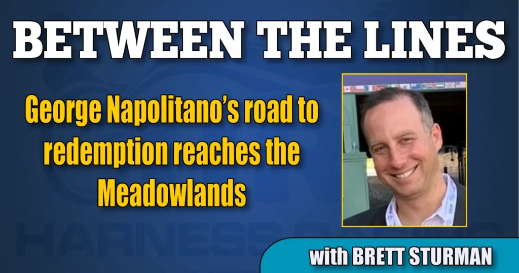George Napolitano's road to redemption reaches the Meadowlands