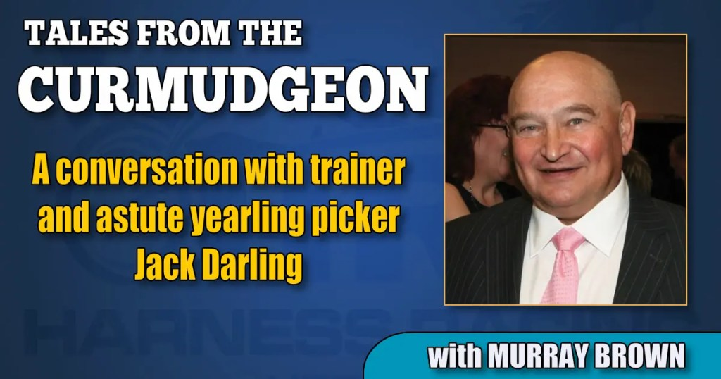 A conversation with trainer and astute yearling picker Jack Darling