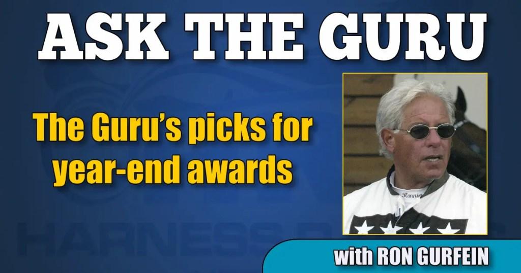 The Guru's picks for year-end awards