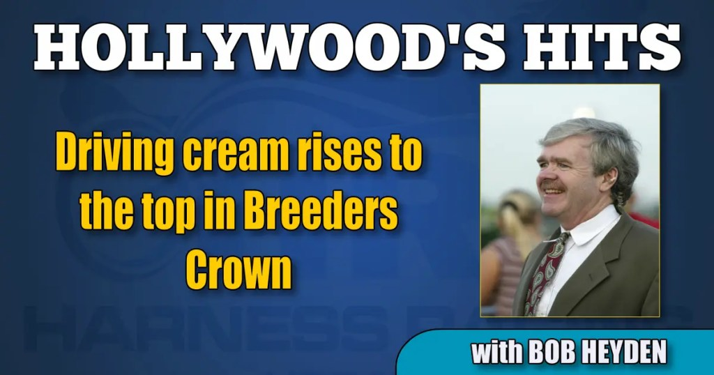 Driving cream rises to the top in Breeders Crown