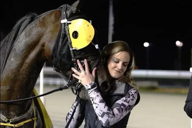 Courtesy Mariah Wright | Mariah Wright is working on a double major in biology and business — with a minor in chemistry — but her favorite subject is, without a doubt, horse racing.