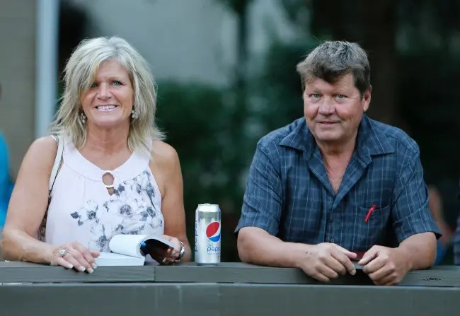Dave Landry | Susie McNair and her husband, Gregg, at the 2018 Lexington Selected Yearling Sale.