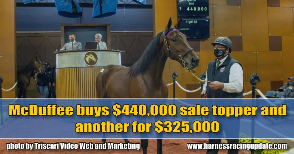 McDuffee buys $440,000 sale topper and another for $325,