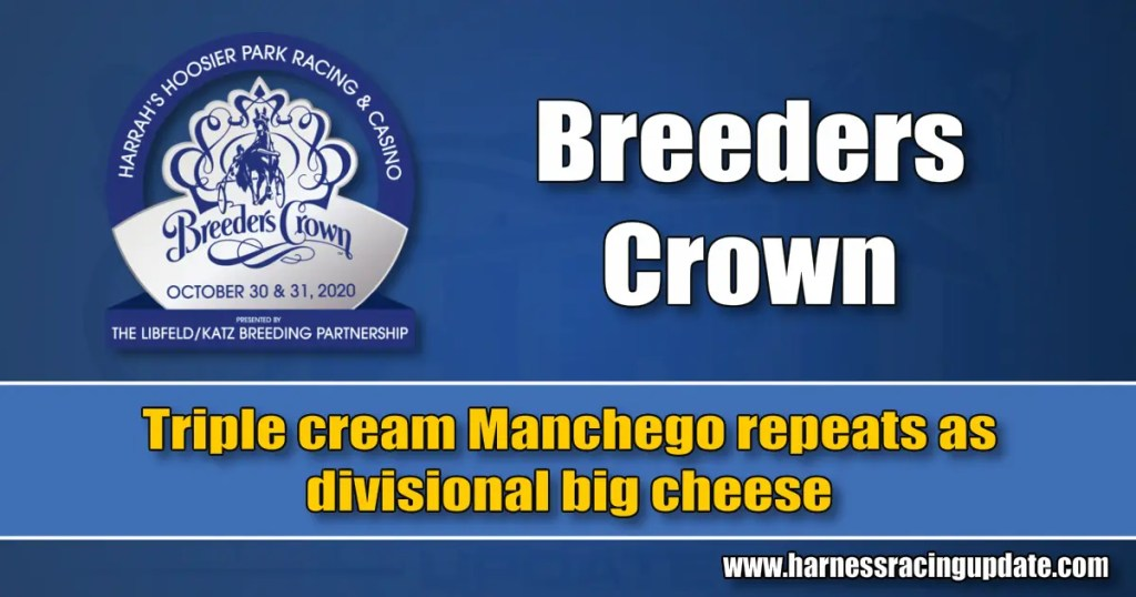 Triple cream Manchego repeats as divisional big cheese