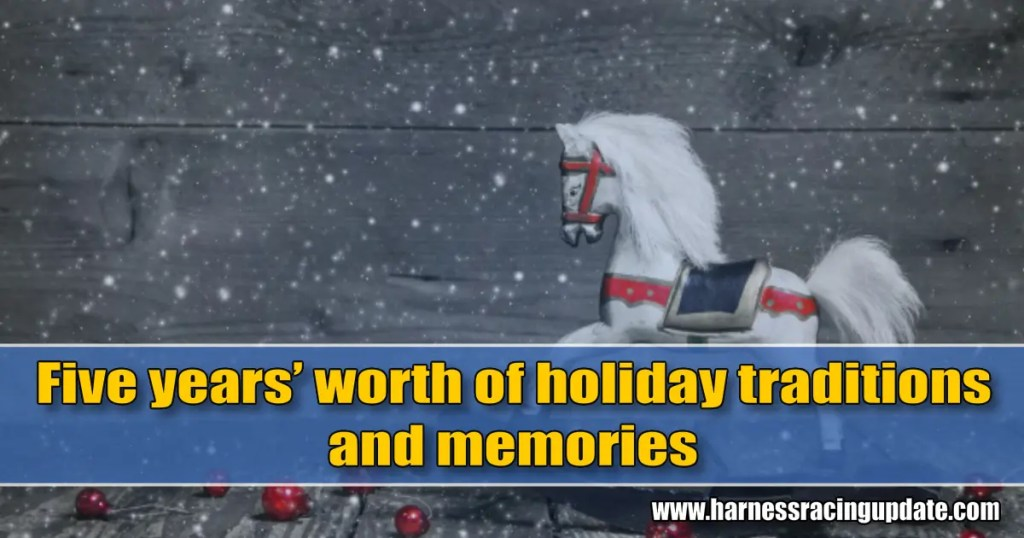 Five years' worth of holiday traditions and memories