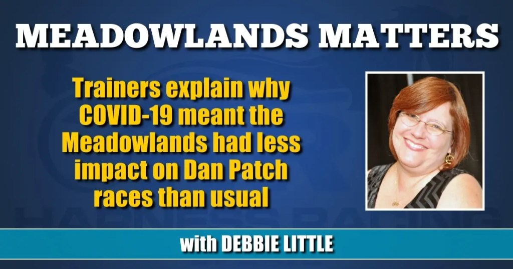 Trainers explain why COVID-19 meant the Meadowlands had less impact on Dan Patch races than usual
