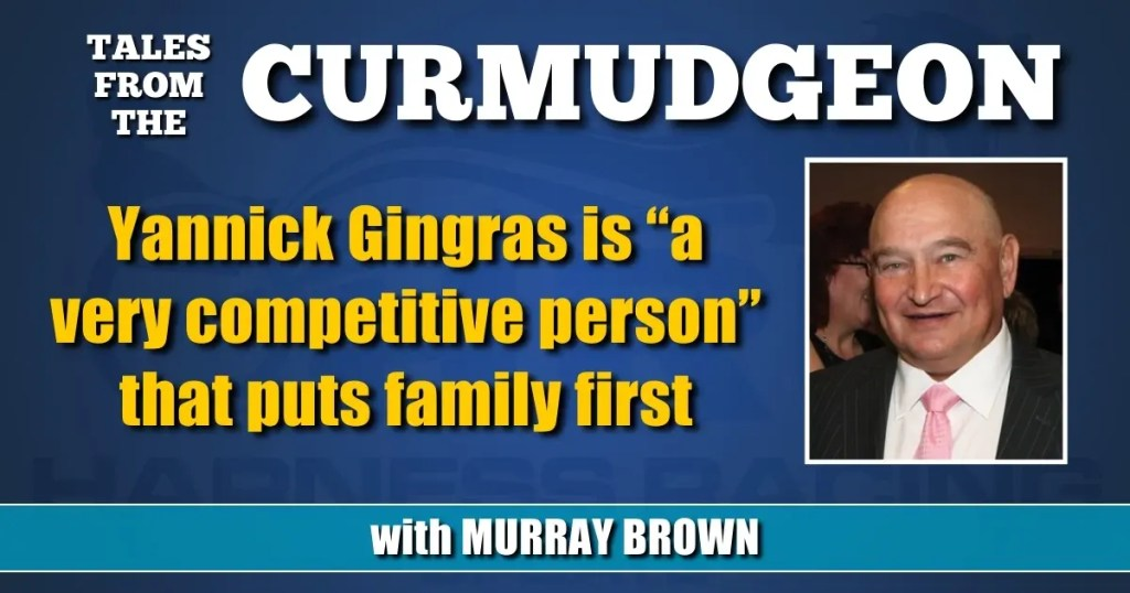 """Yannick Gingras is """"a very competitive person"""" that puts family first"""