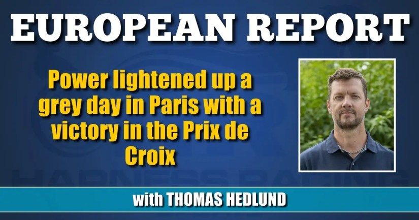 Power lightened up a grey day in Paris with a victory in the Prix de Croix