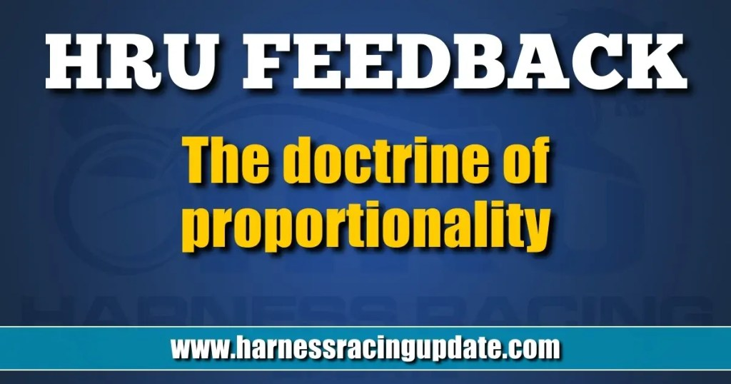 The doctrine of proportionality