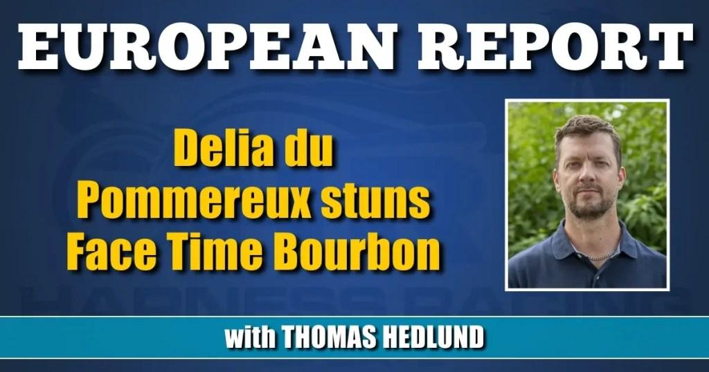 Delia du Pommereux stuns Face Time Bourbon