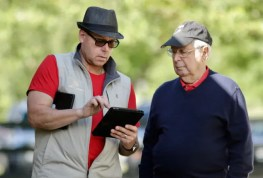 Dave Landry   Jim Campbell (left) and Hall of Fame owner Jules Siegel inspecting yearlings at the 2017 Lexington Selected Yearling Sale.