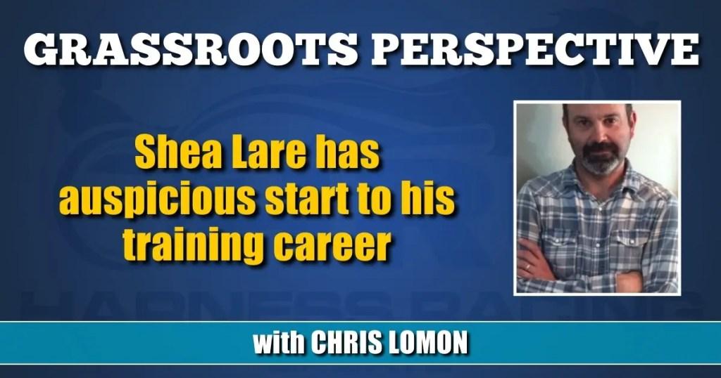 Shea Lare has auspicious start to his training career