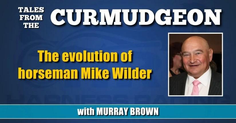 The evolution of horseman Mike Wilder