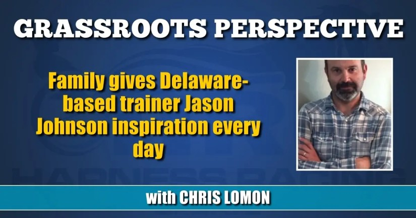 Family gives Delaware-based trainer Jason Johnson inspiration every day
