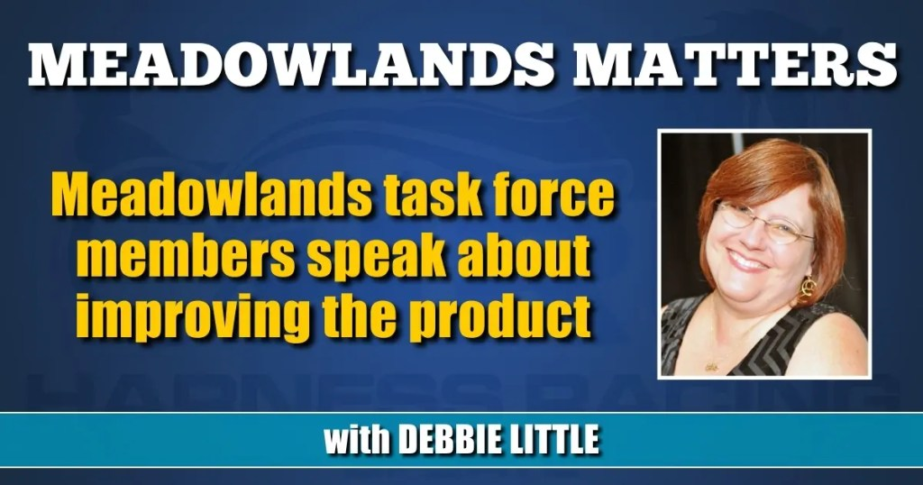 Meadowlands task force members speak about improving the product