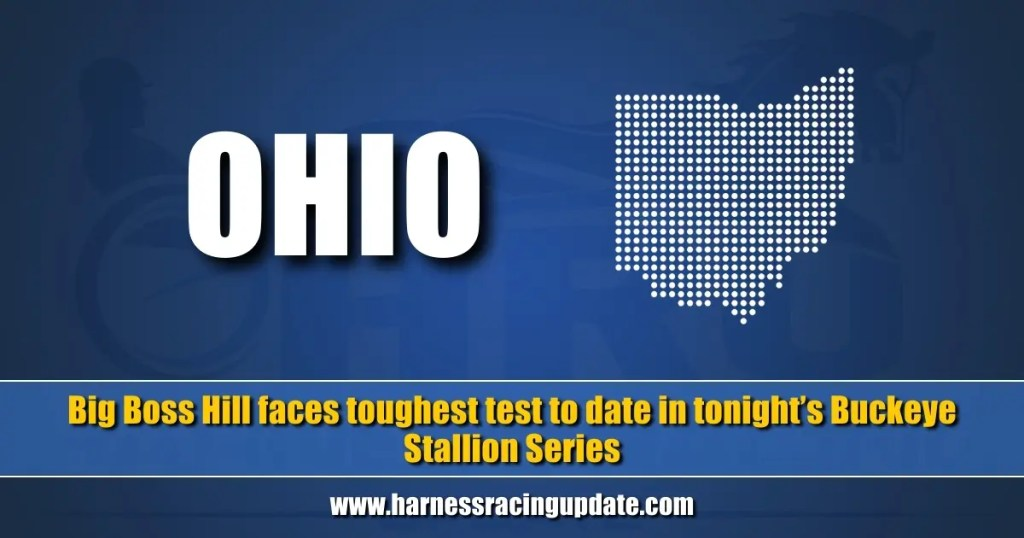 Big Boss Hill faces toughest test to date in tonight's Buckeye Stallion Series