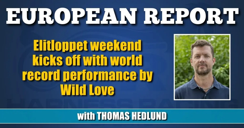Elitloppet weekend kicks off with world record performance by Wild Love