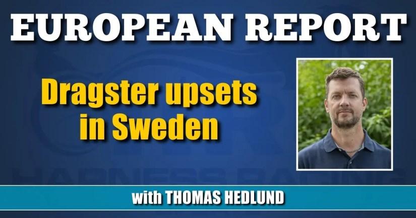Dragster upsets in Sweden