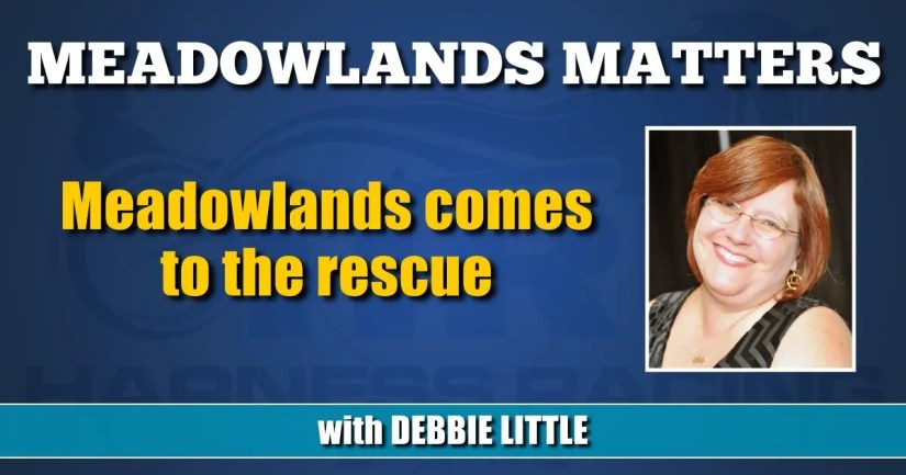 Meadowlands comes to the rescue