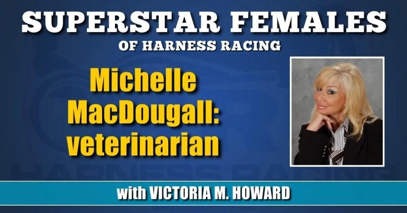 Michelle MacDougall — veterinarian