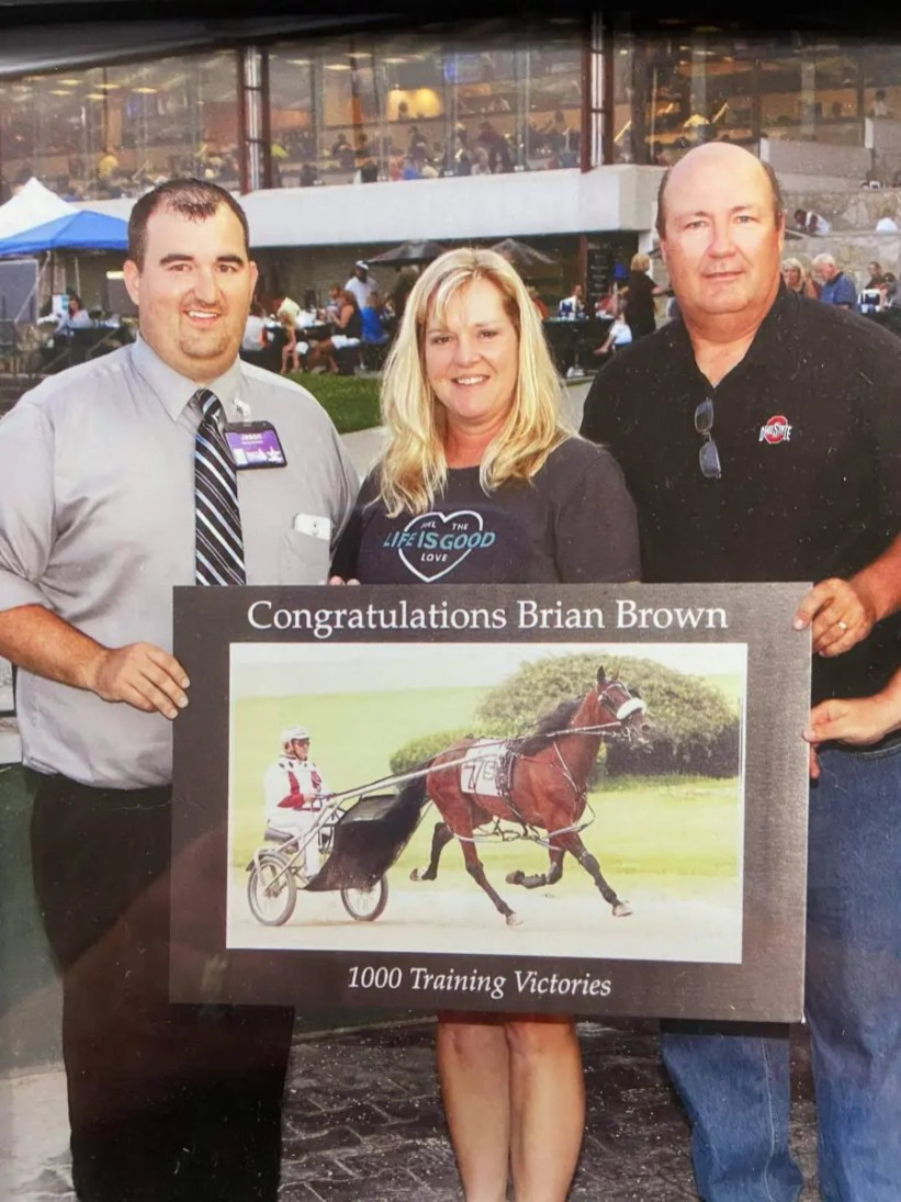 Courtesy Brown family | Jennifer Brown with her husband Brian Brown (right).