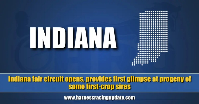 Indiana fair circuit opens, provides first glimpse at progeny of some first-crop sires