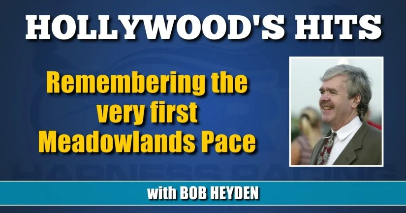 Remembering the very first Meadowlands Pace
