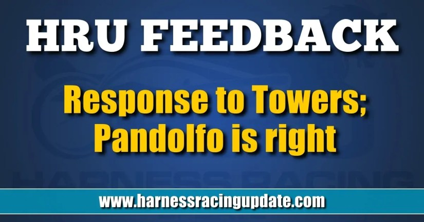Response to Towers; Pandolfo is right