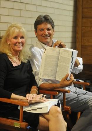 Adam Ström Hunterton's Cindy and Steve Stewart. Hunterton was the sale's second leading consignor in gross sales.