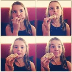 Grande fille Pizz'art
