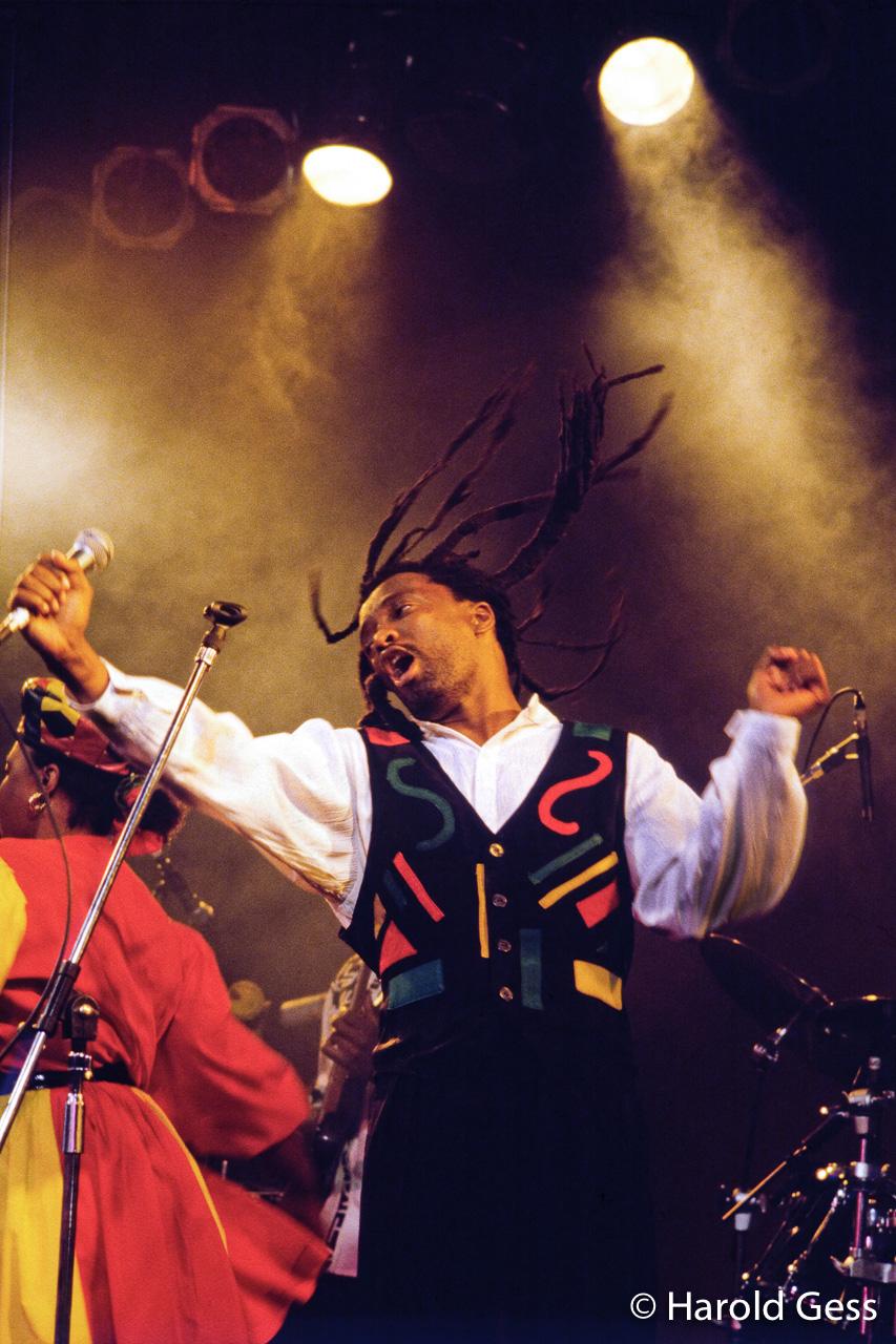 Lucky Dube, Johannesburg, 1996