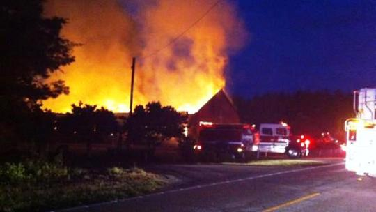 Black Churches on Fire