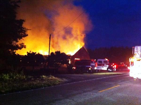 Black Churches on Fire
