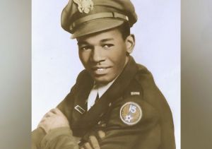 Calvin Spann Tuskegee Airmen Photo