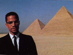 Malcolm X Egypt Pyramids
