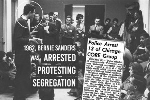 Bernie Sanders 1962 Protest