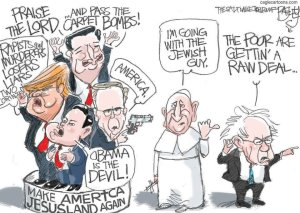 Pope Francis Cartoon