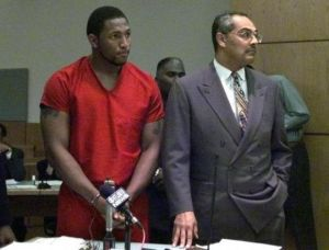 Ray Lewis Atlanta Courtroom