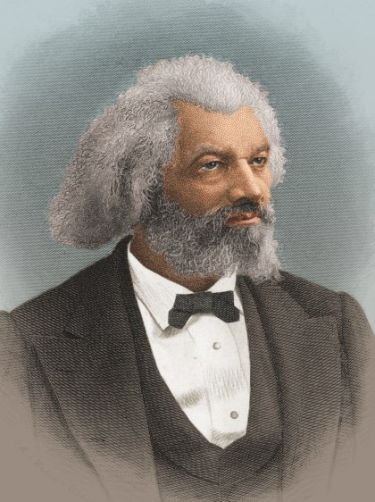 Fredrick Douglass was the leading Black Republican in the 19th cdntury. No one could ever mistake him for Abe Lincoln's African American. A colorized print shows a portrait of American statesman, editor, and author Frederick Douglass (1818 - 1895), late 1800s. (Photo by Stock Montage/Getty Images)