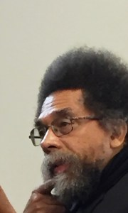 A contemplative Dr. Cornell West during Jill Stein and Ajamu Baraka post nomination press conference. Photo Credits: (c) 2016 Harold Michael Harvey