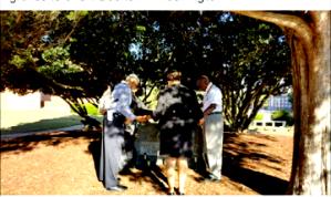 Concerned Tuskegee Alumni Praying