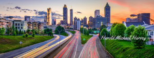 Atlanta Skyline with Signature