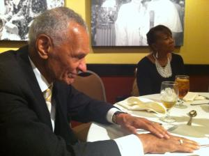 C. T. Vivian at SCLC Banquet Reflecting