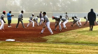 HBCU infield drill