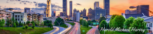 cropped Atlanta Skyline with Signature